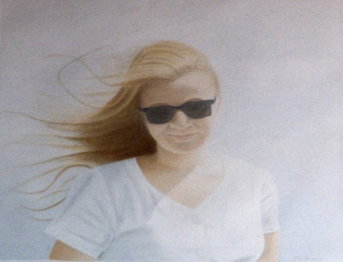 Girl with Sun Glasses