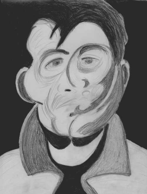 Study of a Francis Bacon Self-Portrait
